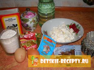 ингредиенты к творожному кексу