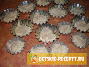 творожные кексы с изюмом