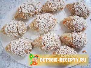 ежики с рисом рецепт