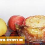 печеные яблоки для ребенка