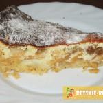 творожно яблочный пирог фото