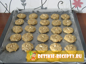 детское овсяное печенье рецепт