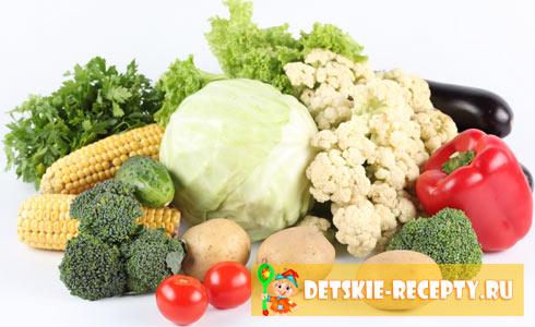 детские рецепты из овощей