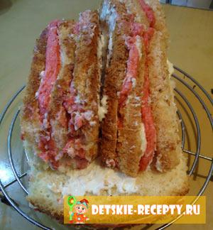 мастер класс торт машинка