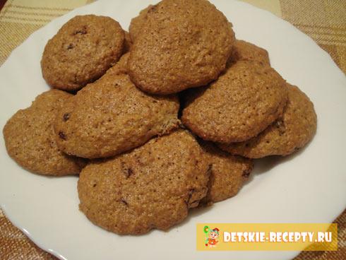 Печенье овсяное диетическое в духовке рецепт