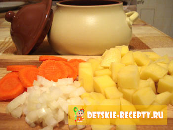 картошка в горшочках в духовке