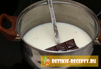 шоколад в молоке