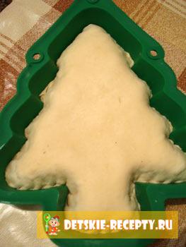 новогодний пирог елка