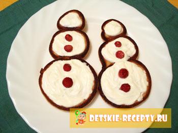 новогодний рецепт блинов для детей