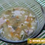 куриный суп с кабачком