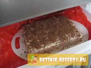 торт из печенек