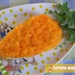 салат с курицей и морковкой