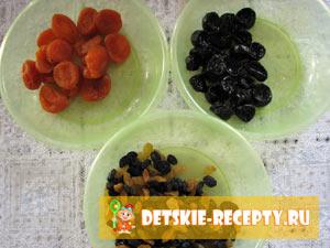 продукты для компота детского