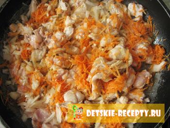 рисовая каша с курицей рецепт
