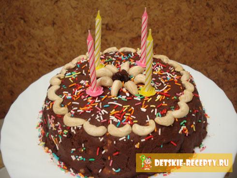 именинный торт муравейник