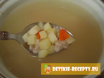 рецепт супа с колбасой