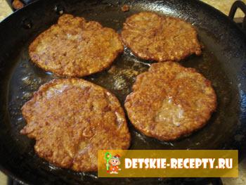оладушки из куриной печени рецепт
