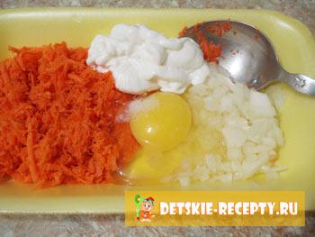 рецепт морковных оладушков