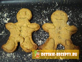 испеченное имбирное печенье