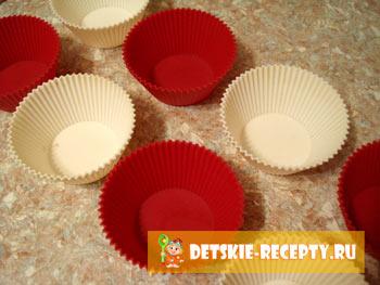 приготовление воздушных кексов