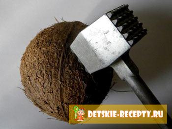 как расколоть кокос