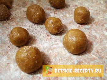 орешки в формочках