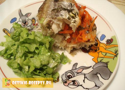 морская рыба в духовке в фольге рецепты