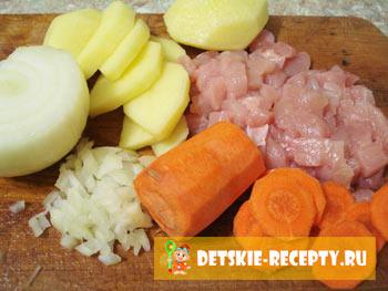 запеканка из курицы рецепт