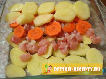 запеканка из картофеля рецепт
