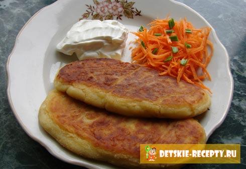 Рецепты картофельных котлет пошаговый рецепт с фото