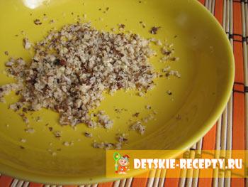 грецкие орехи для морковного салата