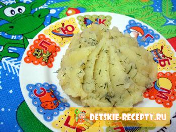 картофельное пюре для ребенка