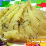 пышное картофельное пюре