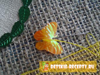 украшение салфетки на пасху