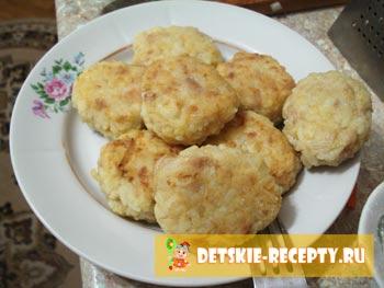 рецепт тефтелей с рисом