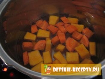 суп пюре из тыквы для детей