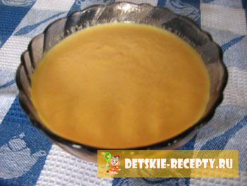 тыквенный суп для грудничка
