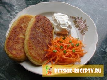 фото рецепт картофельных зраз с мясом