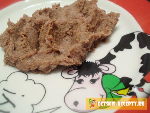 мясное пюре для ребенка