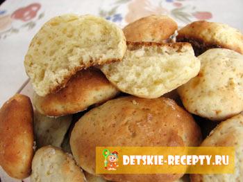 рецепт мягких печенья