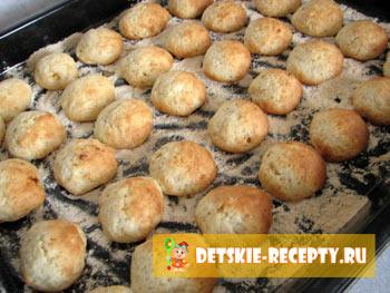 готовое мягкое печенье