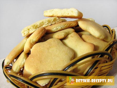 рецепт печенья для малыша до года