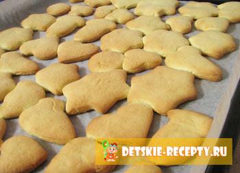 рецепты печеньев песочных с фото