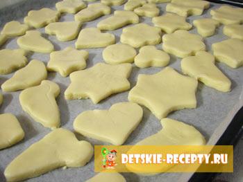Печенье песочное домашнее рецепт с формочками