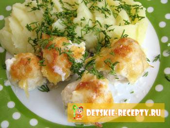 фрикадельки рыбные рецепт