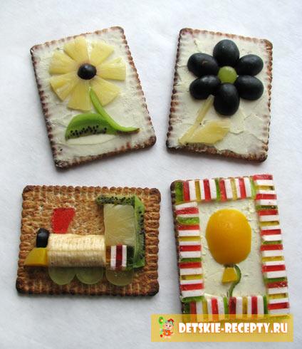 сладкие бутерброды для детей