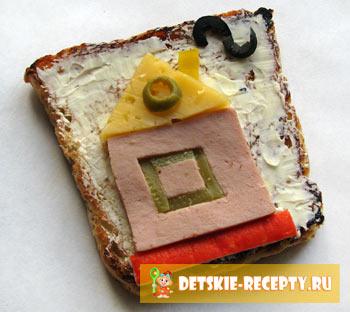 бутерброды на день рождение