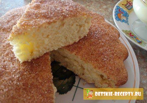 рецепт выпечки кекс с корицей
