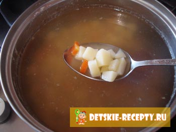 суп из рыбной консервы рецепт