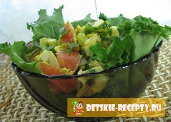 рецепт салата с яйцом